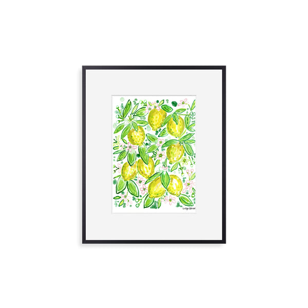 "The ""When Life Gives You Lemons"" Fine Art Print"