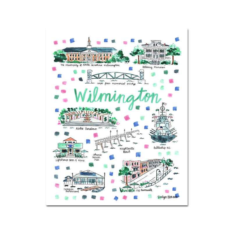 """Wilmington, NC"" Fine Art Print"