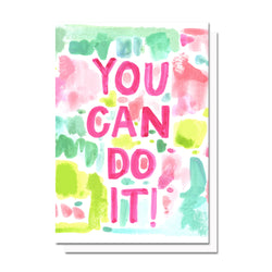 You Can Do It Card