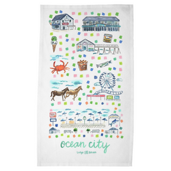 Ocean City, MD Tea Towel