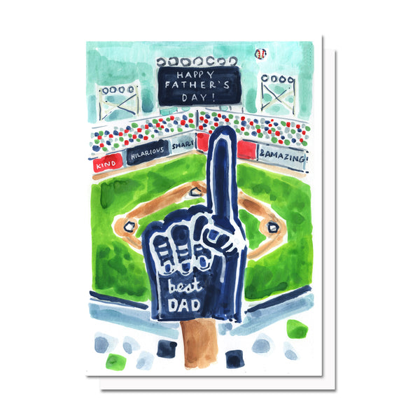 Father's Day Baseball Card