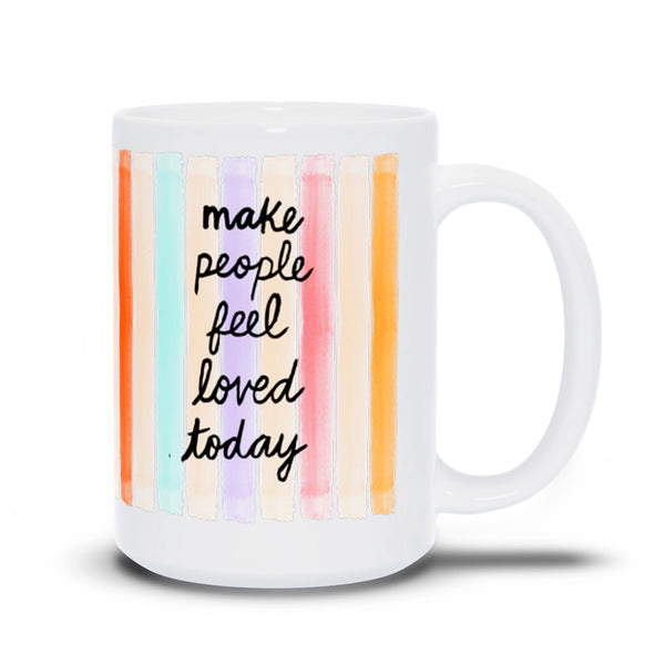 Confetti Stripes Mug