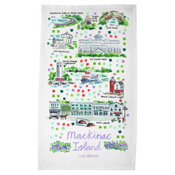 Mackinac Island, MI Tea Towel