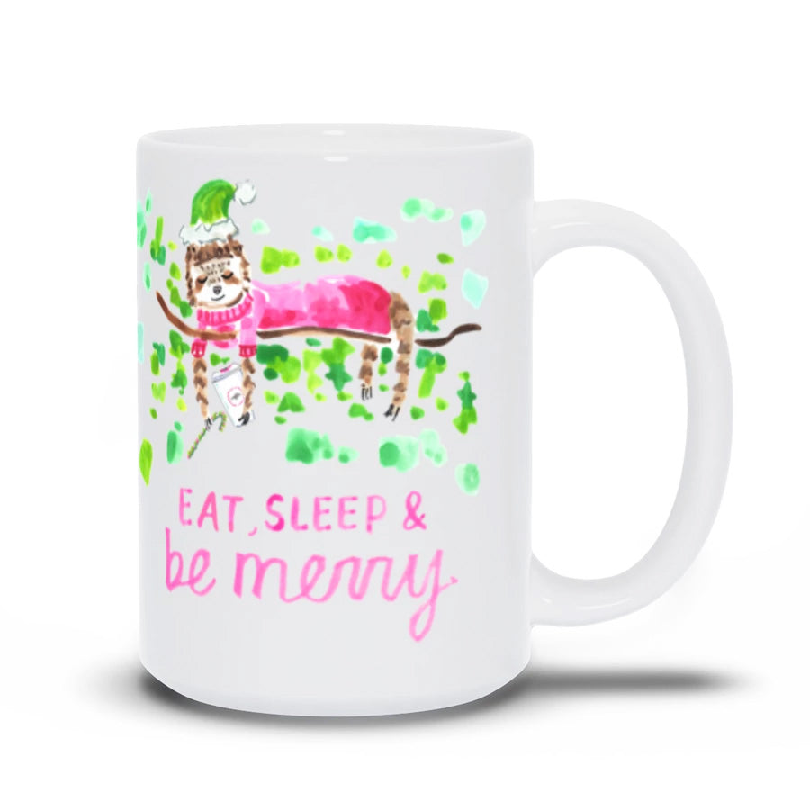 Drink, Sleep, and Be Merry Holiday Mug (Limited Time Only)