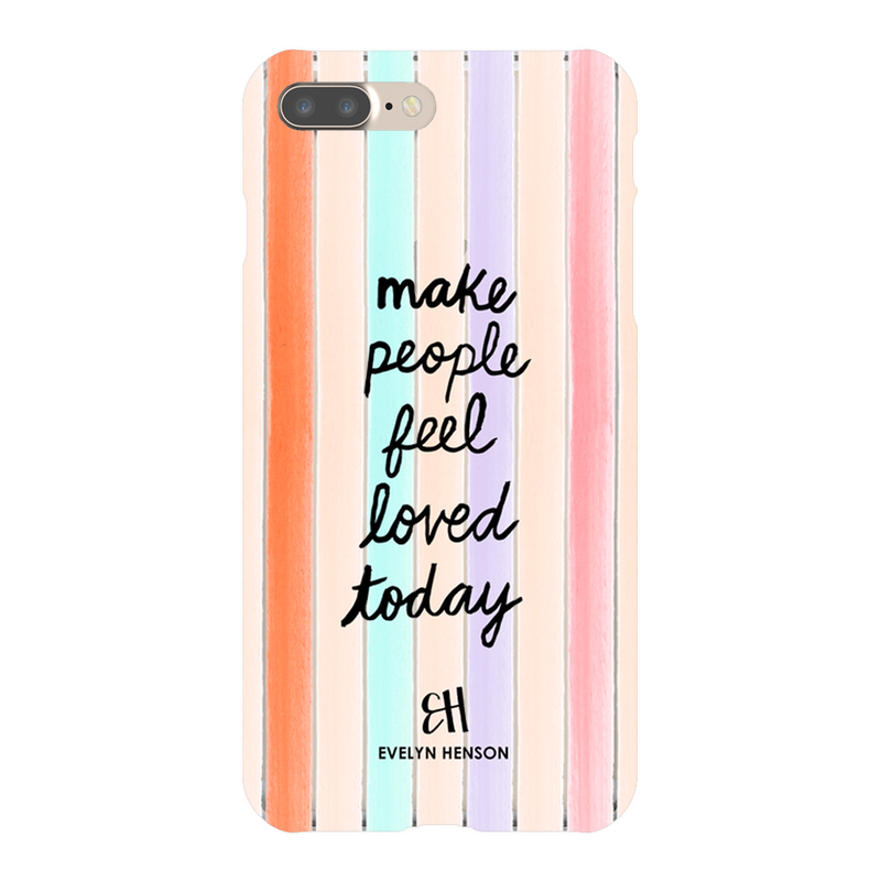 Confetti Stripes Phone Case