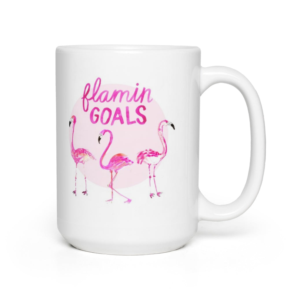 Flamingoals Mug