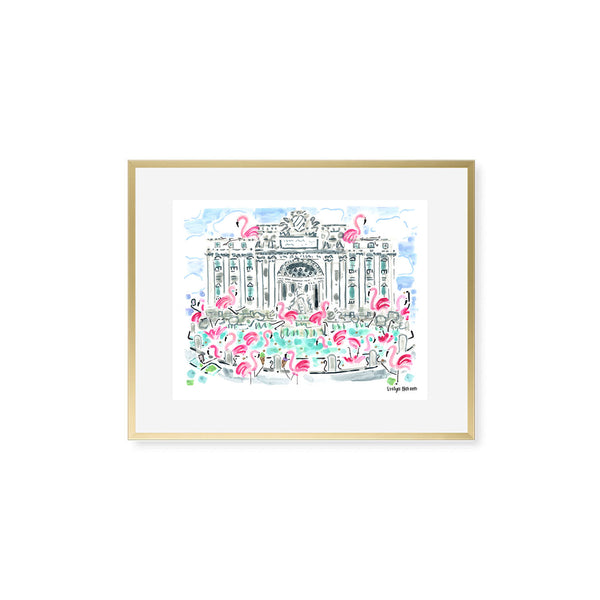"The ""Flamingo to Rome"" Fine Art Print"