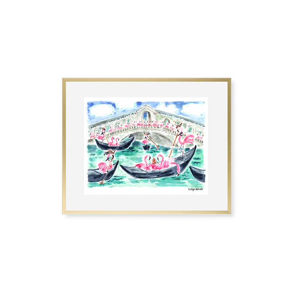 "The ""Flamingo to Venice"" Fine Art Print"