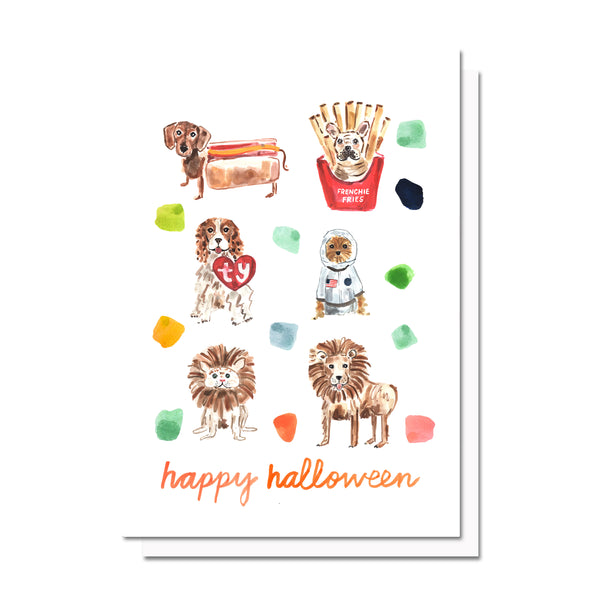 Halloween Pups Card