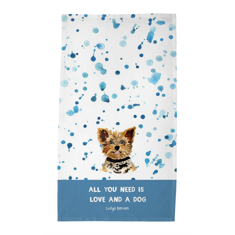 Personalized Dog Tea Towel
