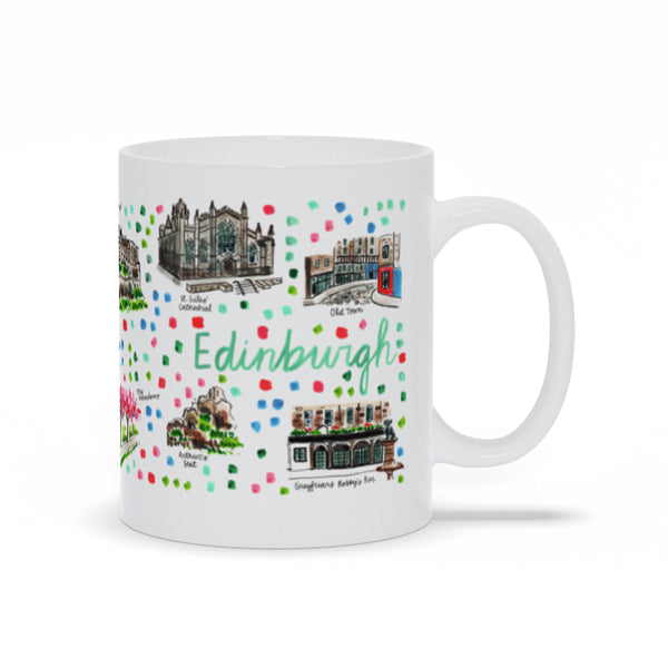 Edinburgh Map Mug