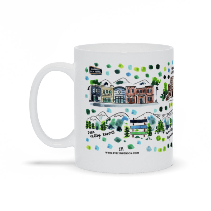 Park City, UT Map Mug