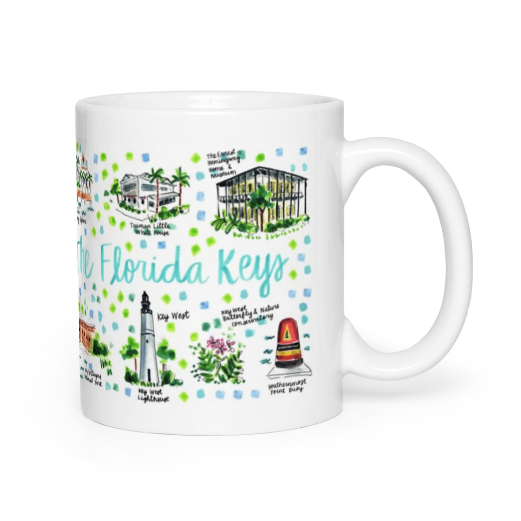 Florida Keys, FL Map Mug