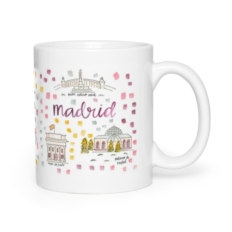 Madrid Map Mug