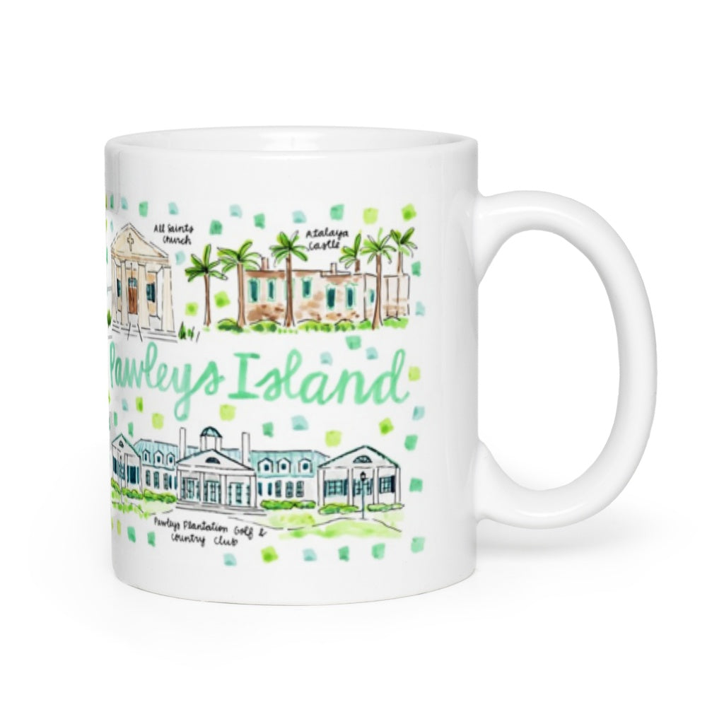 Pawleys Island, SC Map Mug
