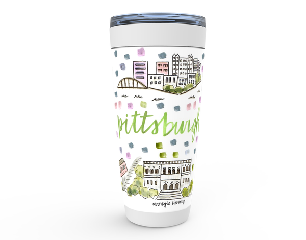Pittsburgh, PA Map Tumbler
