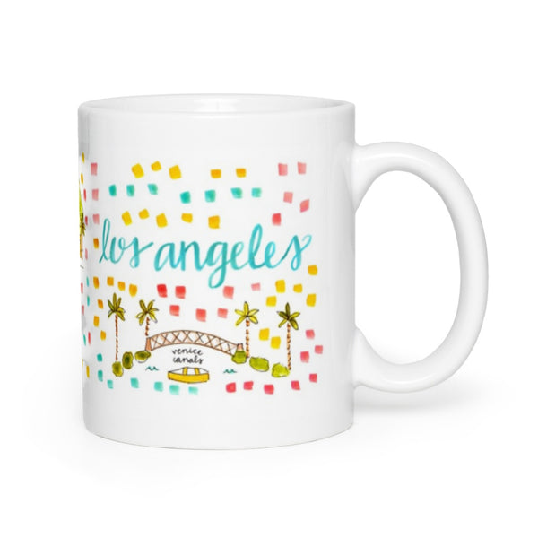 Los Angeles, CA Map Mug