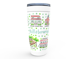Hillsborough, NC Map Tumbler