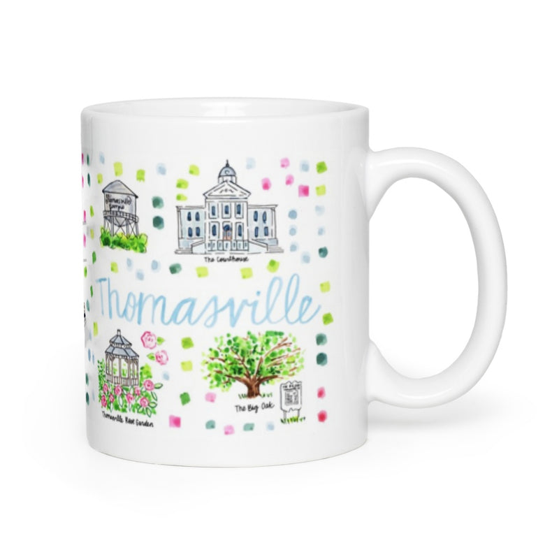 Thomasville, GA Map Mug