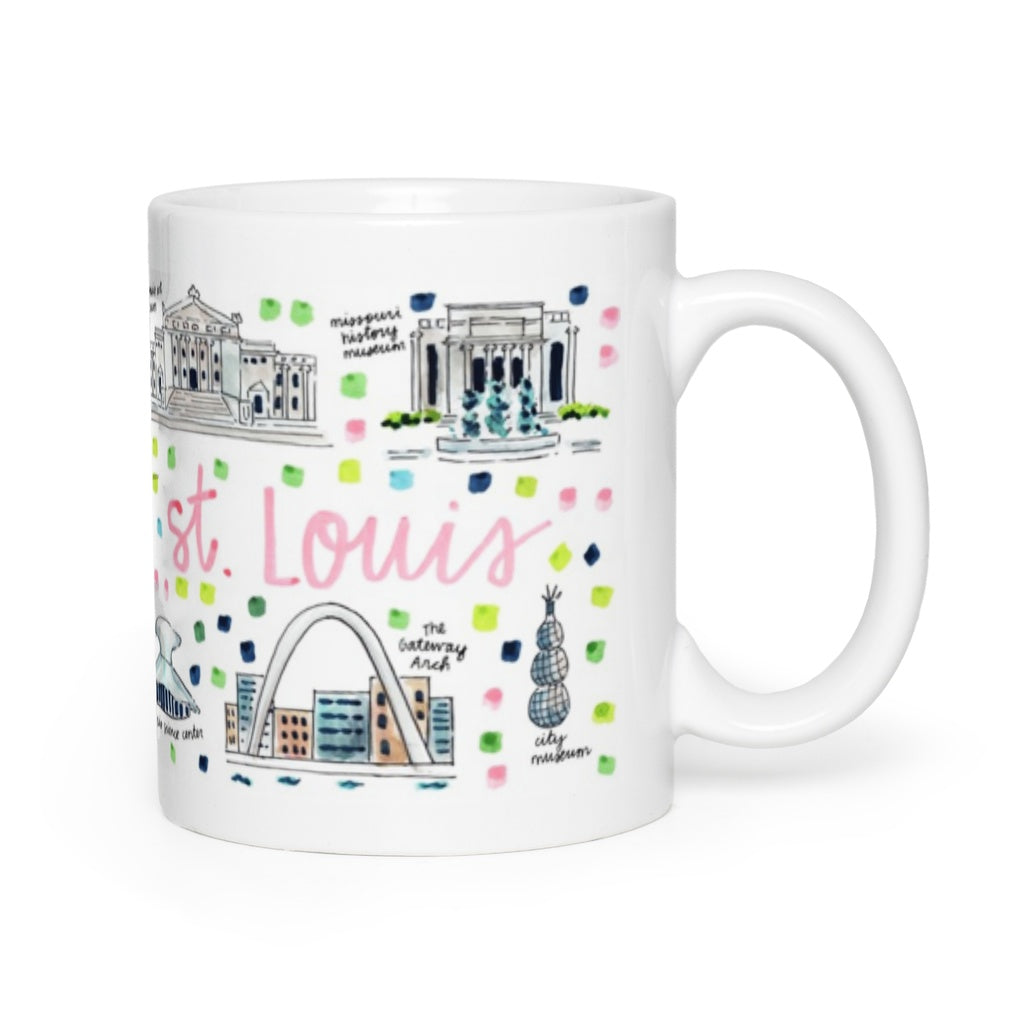 St. Louis, MO Map Mug – Evelyn Henson