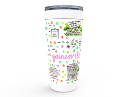 Gainesville, FL Map Tumbler