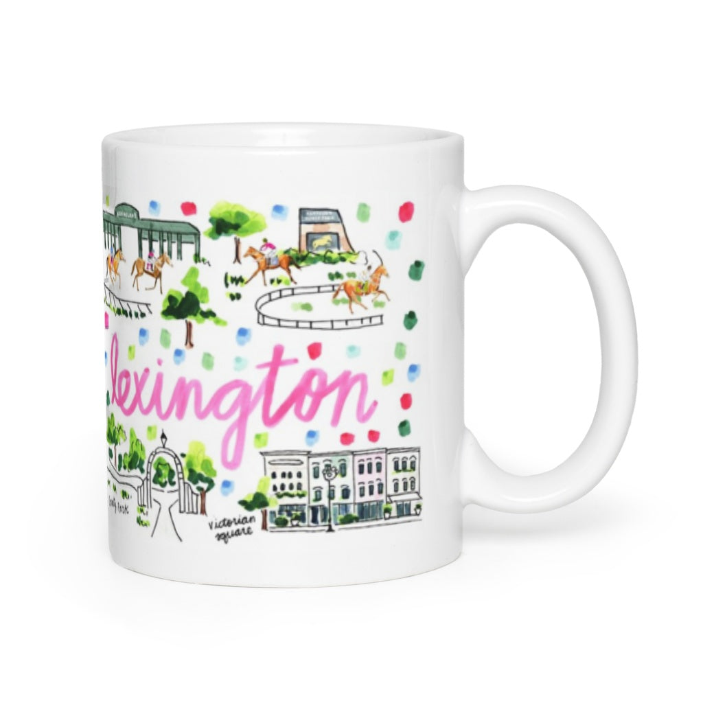 Lexington, KY Map Mug