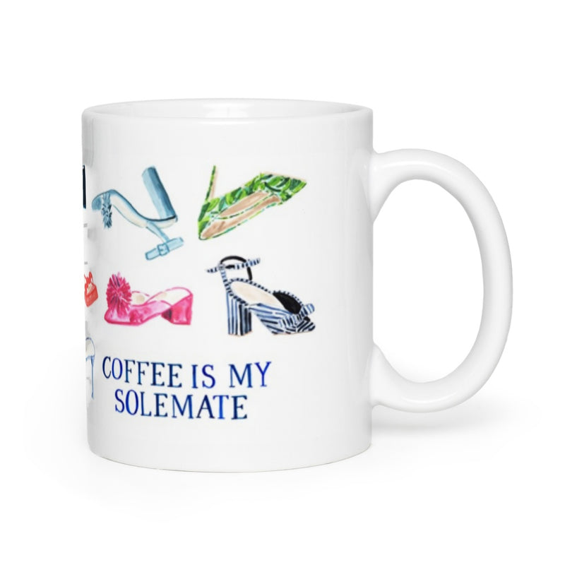 Coffee is my Solemate Mug