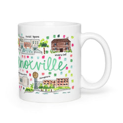 Knoxville, TN Map Mug