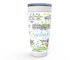 Nantucket, MA Map Tumbler