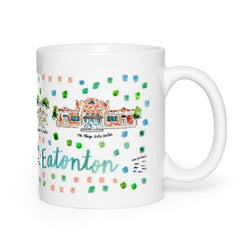 Eatonton, GA Map Mug