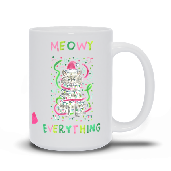 Meowy Everything Holiday Mug (Limited Time Only)