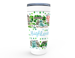 Highlands, NC Map Tumbler