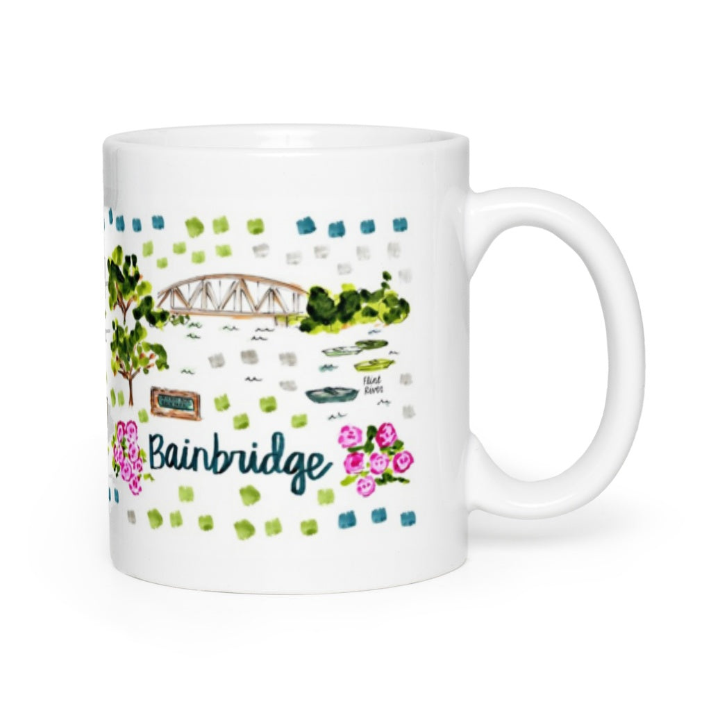 Bainbridge, GA Map Mug