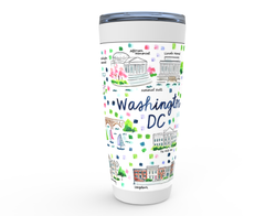 Washington DC Map Tumbler