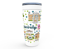 Bainbridge, GA Map Tumbler