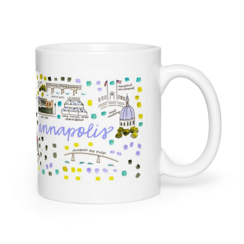 Annapolis, MD Map Mug