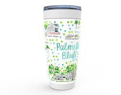Palmetto Bluff, SC  Map Tumbler
