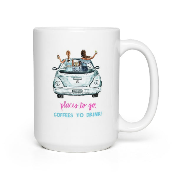 Places to Go Mug