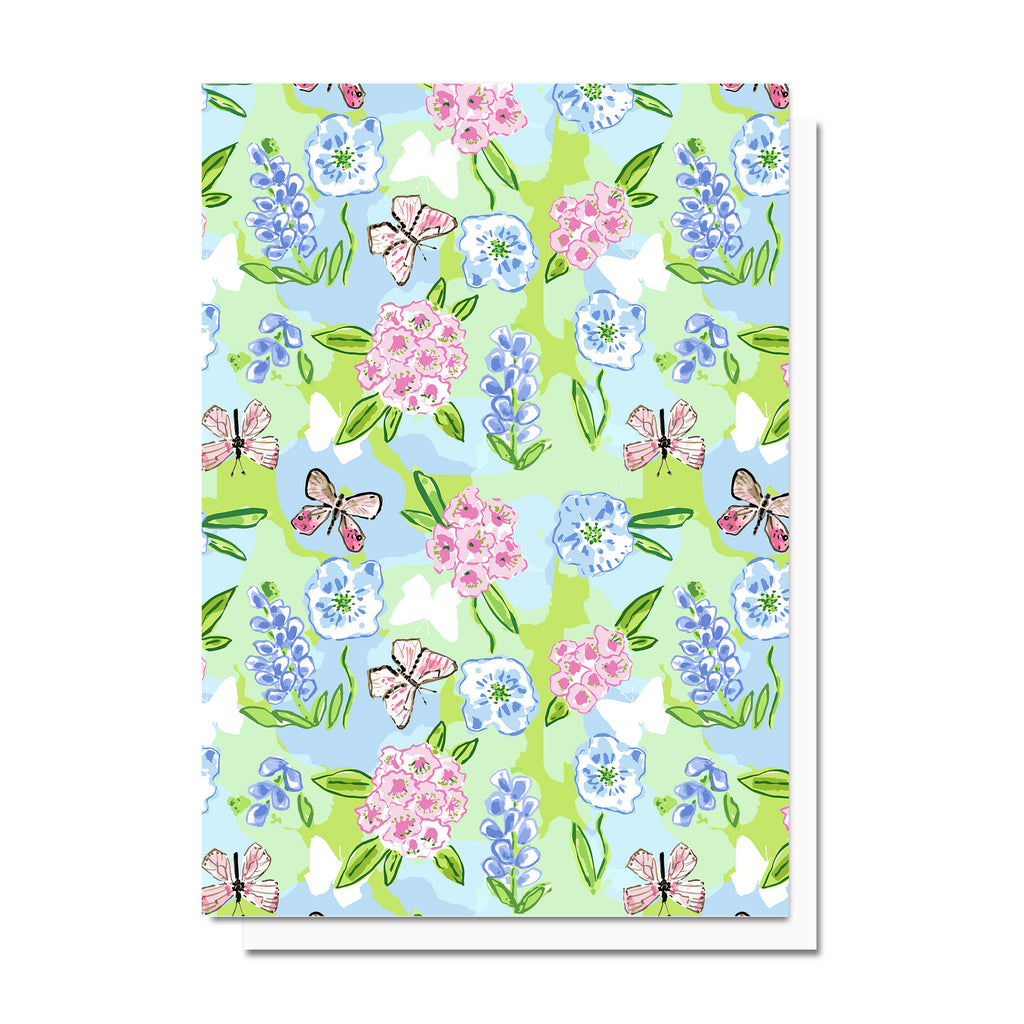 Reese, Patterned Notecard