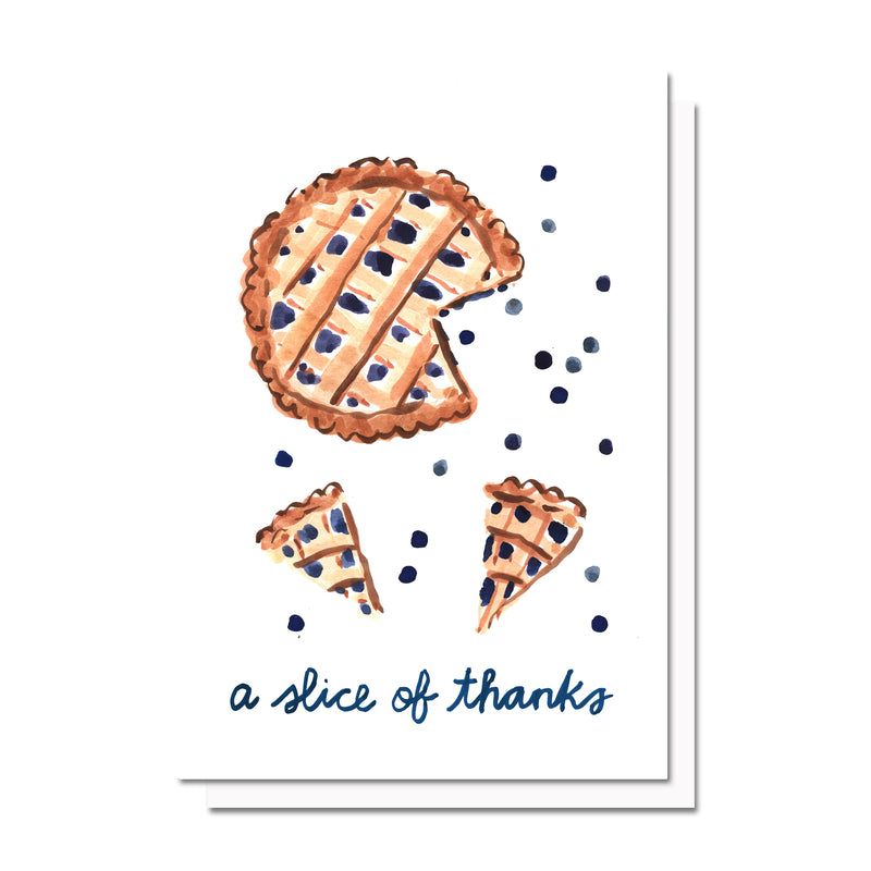 A Slice of Thanks Card