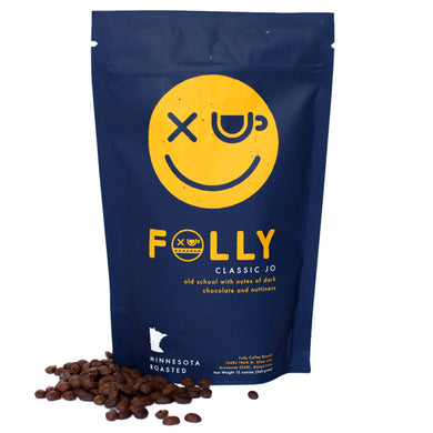Folly Coffee Classic Jo 12oz Whole Bean