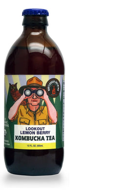 12 Pack Case- Lookout Lemon Berry Kombucha