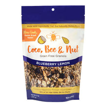 Load image into Gallery viewer, Coco, Bee & Nut: Grain Free Granola Blueberry Lemon
