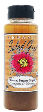 Salad Girl Dressing, Toasted Sesame Ginger