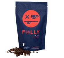 Load image into Gallery viewer, Folly Coffee Winer 12oz Whole Bean