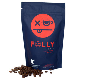 Folly Coffee Winer 12oz Whole Bean