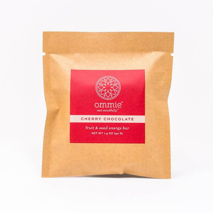 Ommie Snacks, Cherry Chocolate, Vegan
