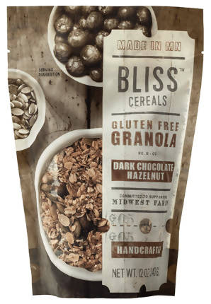 Bliss Granola, Chocolate Hazelnut, GF