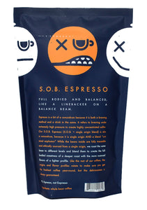 Folly Coffee SOB Espresso 12oz Whole Bean
