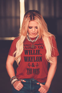 Willie, Waylon, & The Boys Tee